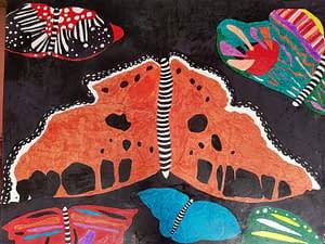 Abstract Art Butterflies