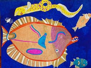 Abstract Art Fish